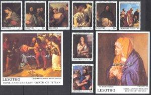 Lesotho Sc# 685-694 MNH 1988 Christmas