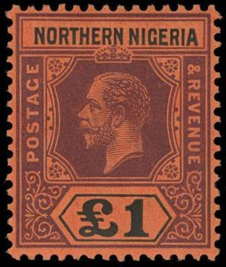 Northern Nigeria Scott 52 Gibbons 52 Never Hinged Stamp