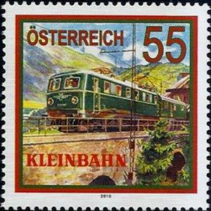 2010 Austria Railways, Locomotives, Kleinbahn VF/MNH! LOOK!