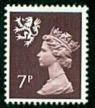 Scotland - #SMH8 Machin Queen Elizabeth II - MNH