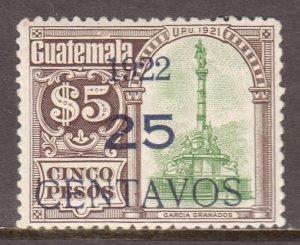 Guatemala - Scott #189c - MLH - SCV $1.00