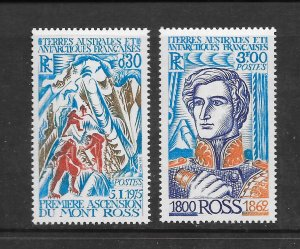 FRENCH SOUTHERN ANTARCTIC TERRITORIES #64-5 JAMES ROSS  MNH