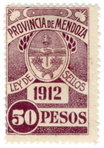 (I.B) Argentina Revenue : Mendoza Local Tax 50P