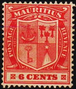Mauritius. 1910 6c S.G.186 Unmounted Mint