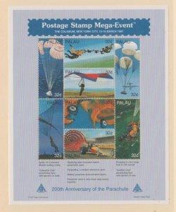 Palau Scott #422-423 Stamps - Mint NH Souvenir Sheet