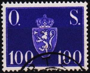 Norway. 1951 100ore S.G.0440  Fine Used