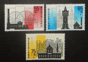 Netherlands B626-28. 1987 Traditional Industries, NH