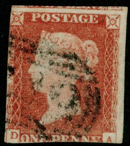 SG8, 1d red-brown, USED. DA