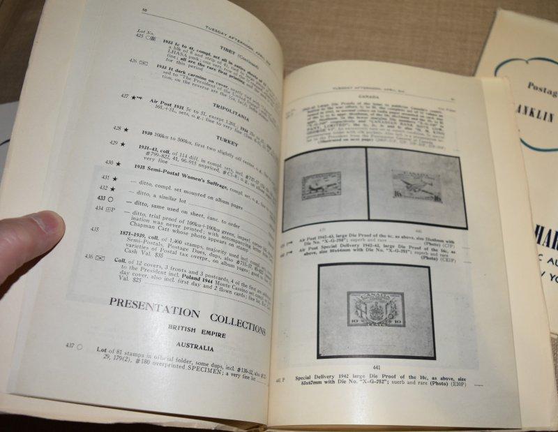 Doyle's_Stamps: Complete 1946 FDR Philatelic Auction Booklets, Parts 1, 2, & 3
