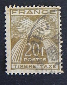 France, 1943-1946, Wheat Sheaves, ((7-(2F-1IR))