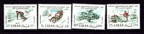 Lebanon C472-75 Hinged 1966 set