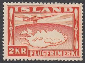 Iceland C20 MH HR CV $11.50