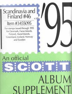 Scott Scandinavia & Finland #46 Supplement 1995