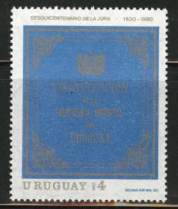 Uruguay Scott 1091 MNH** 1980