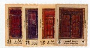 QATAR 954-7 MNH SCV $6.00 BIN $3.00 DOORS