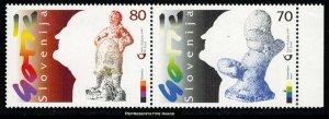 Slovenia Scott 308a Mint never hinged.
