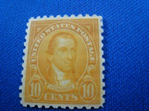 UNITED STATES,  1925   SCOTT #591   -   MLH