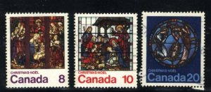 Can #697-699   -1   used VF 1976 PD