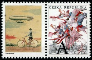 HERRICKSTAMP NEW ISSUES CZECH REPUBLIC Sc.# 3634 Anniv. of Stamp Production