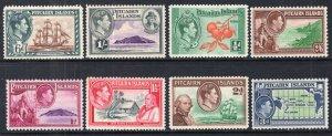 Pitcairn Islands 1-8 MNH VF