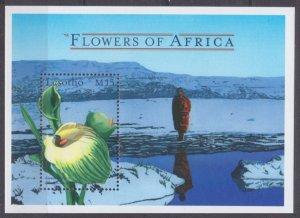 2000 Lesotho 1663/B167 Flowers 5,50 €