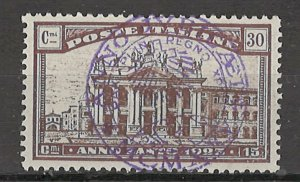 COLLECTION LOT # 4321 ITALY #B21 1924 CV+$12.50