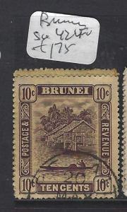 BRUNEI  (P0112B)  RIVER 10C  SG42  VFU