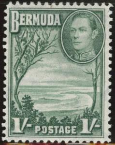 BERMUDA Scott 122 MNH** 1sh stamp