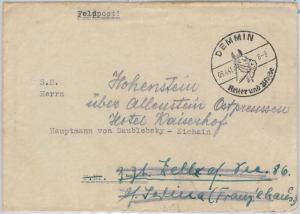 SPORTS: HORSE  racing - GERMANY -  POSTAL HISTORY: Postmark on COVER 1959