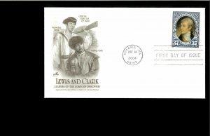 2008 FDC Lewis & Clark Bicentennial Omaha NE