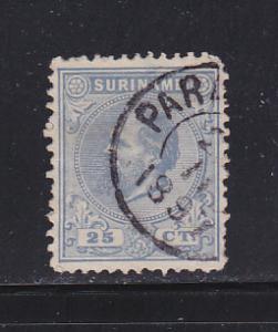 Surinam 11 U King William III