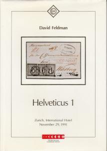 Helveticus Collection of Swiss Cantonals, David Feldman. 2 Volumes cplt.
