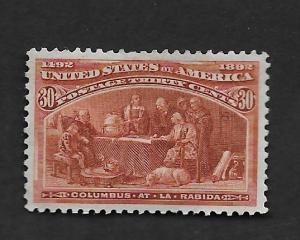 U.S. Vintage Stamps SC#239 VF Unused CV$320