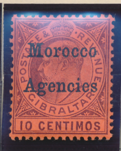 Great Britain, Offices In Morocco Stamp Scott #28, Mint Hinged - Free U.S. Sh...