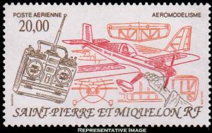 Saint Pierre & Miquelon Scott C68 Mint never hinged.