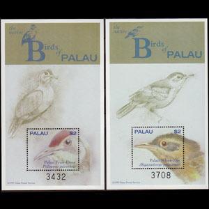 PALAU 2000 - Scott# 555-6 S/S Birds NH