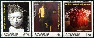HERRICKSTAMP NEW ISSUES ROMANIA Sc.# 6102-04 Contemporary Artists