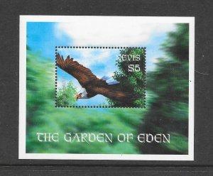 BIRDS - NEVIS #1259  EAGLE    MNH