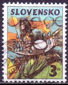 Slovakia. 1997. 274. Easter. USED.