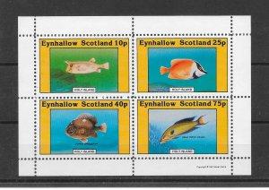 FISH - EYNHALLOW SCOTLAND-HOLY ISLAND   MNH