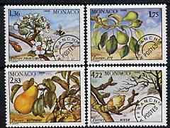 Monaco 1988 Seasons of the Pear Tree perf set of 4 unmoun...