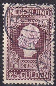 Netherlands #99   F-VF Used  CV $50.00  (Z1216)