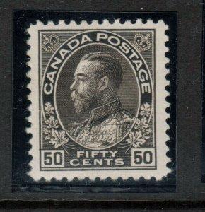 Canada #120ii Very Fine Mint Lightly Hinged