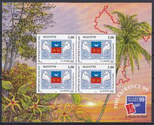 Mayotte 86a MNH (1997)