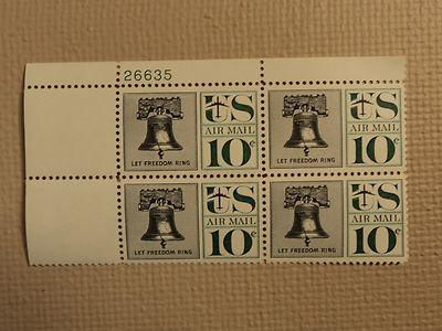 USPS Scott C57 10c Let Freedom Ring Liberty Bell 1960 Min...