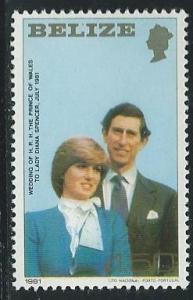 Belize #550 50c Royal Wedding  (MNH) CV $1.75