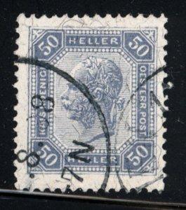 Austria 1905  Scott #103  used