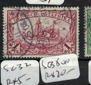 German East Africa SC 19 VFU (9eks)