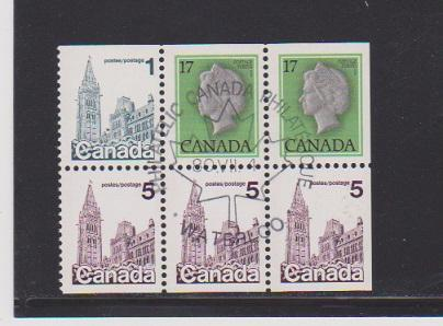 CANADA #BK481 STAMPM USED   LOT#73