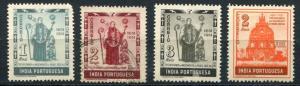 Portuguese India SC# 507-11 Jose Vez & Ruins of Church U & MH